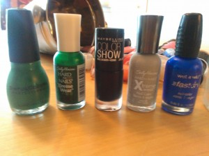 car colored nail polishes